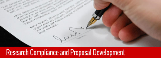 Research Compliance and Proposal Development