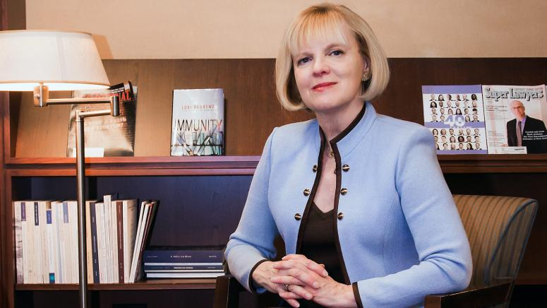 Lori Andrews, Distinguished Professor of Law, and the Institute for Science, Law, and Technology
